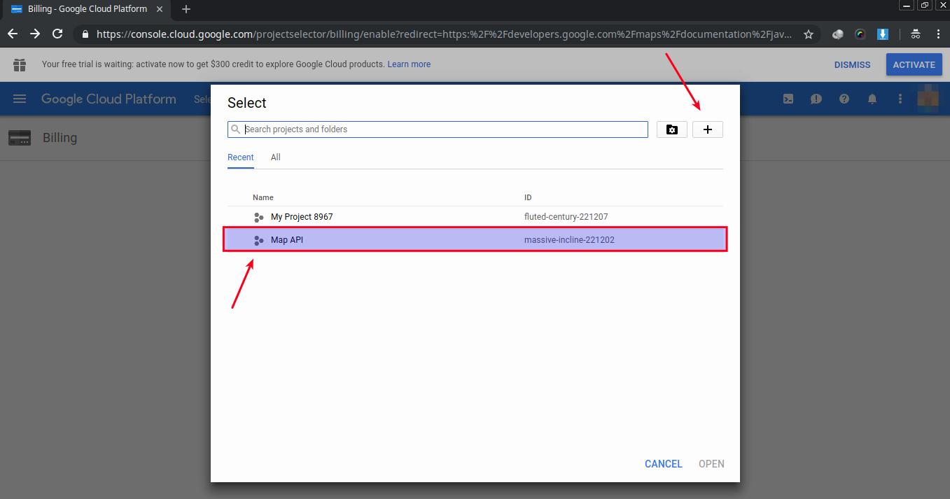 Add billing to Google Maps API (API Key Google) - Long's blog